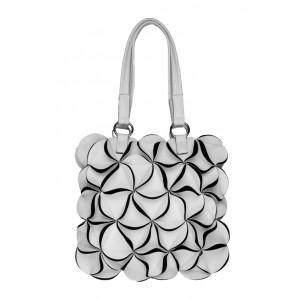 Elegantní dámská kabelka COSSI Bella bílá