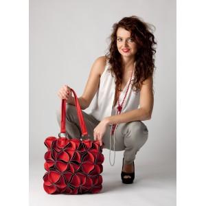 Dámská kabelka COSSI Bella červená