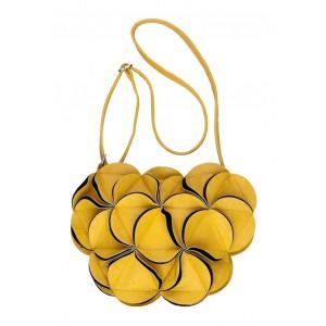Dámská kabelka COSSI Christina žlutá